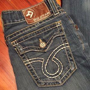 BIG STAR Vintage Pioneer Bootcut Denim Jeans Pants
